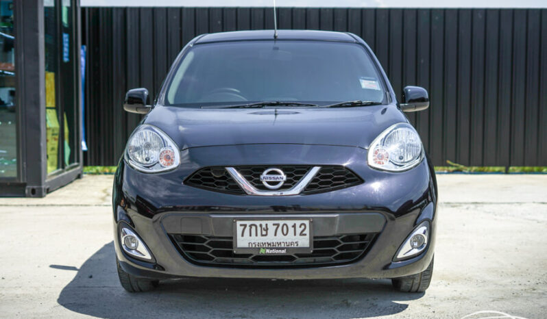 NISSAN MARCH 1.2 E LED AT ปี 2018 full